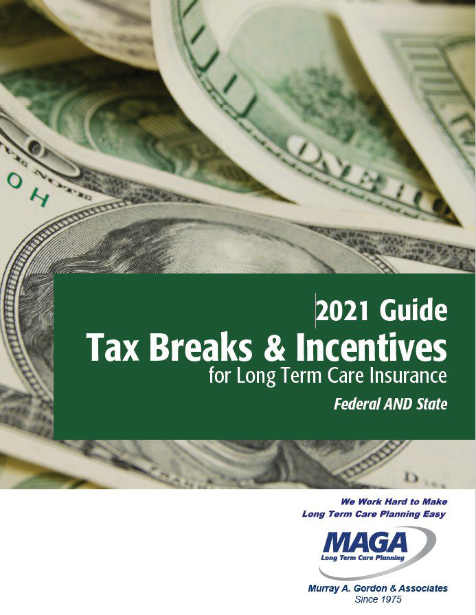 2021 Ltci Tax Breaks And Incentives