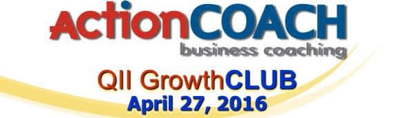 "Slides from ""Grow or Die"" GrowthCLUB April 27, 2016"