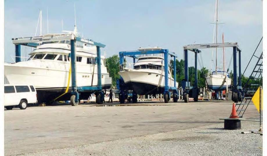 1998 Larsen Marine Travel Lifts