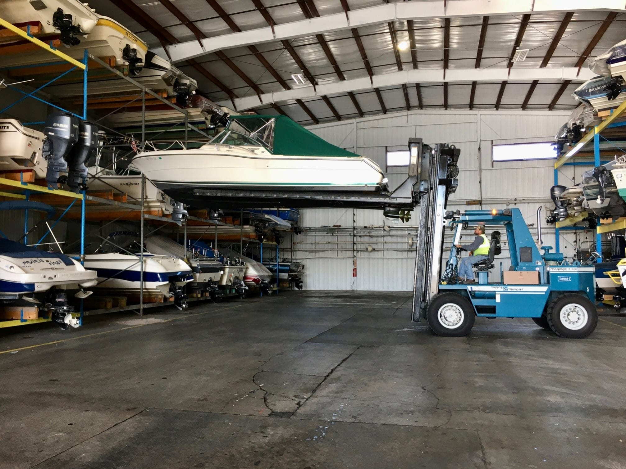 Storing Your Powerboat for The Winter