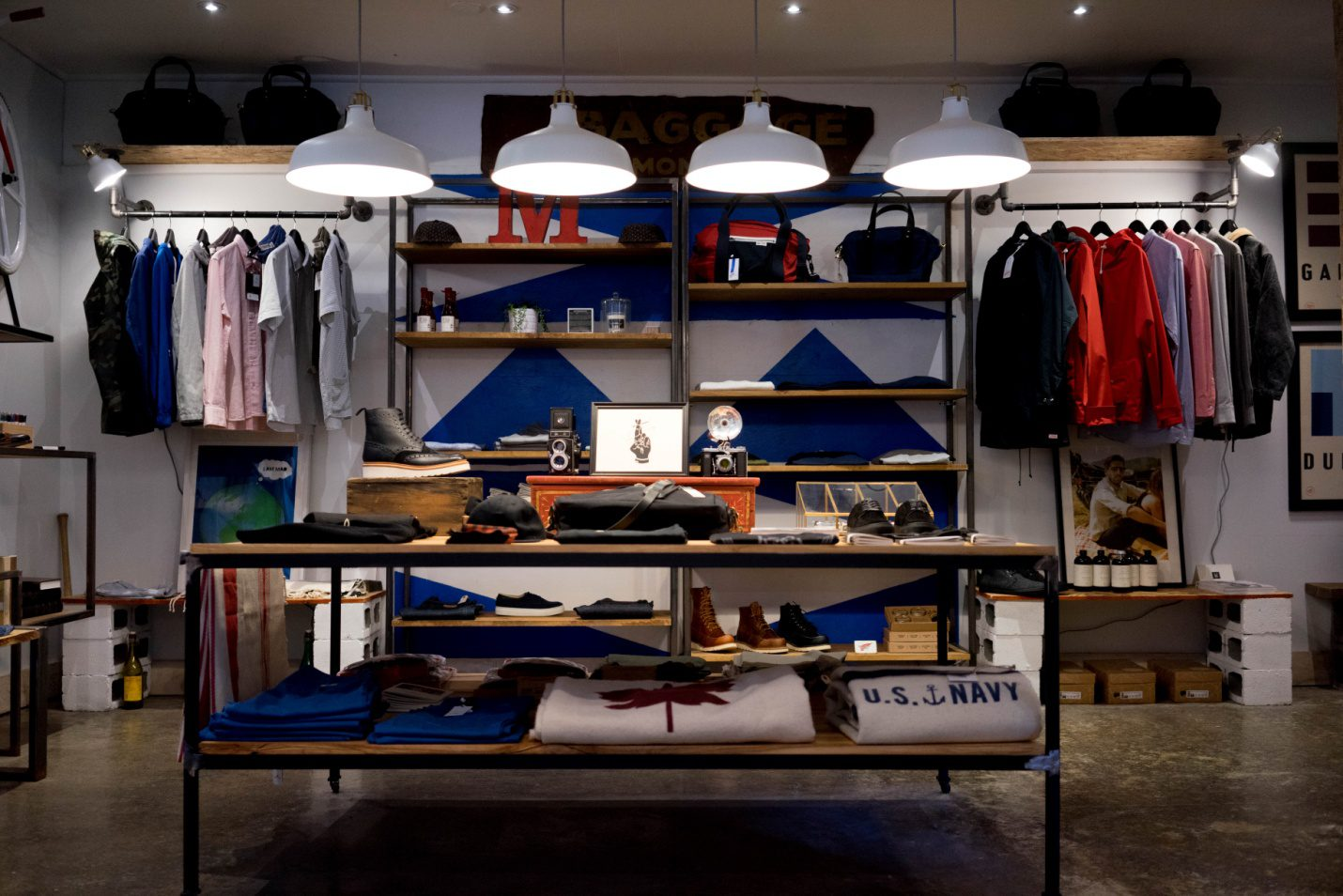 Lighting rules for retail stores
