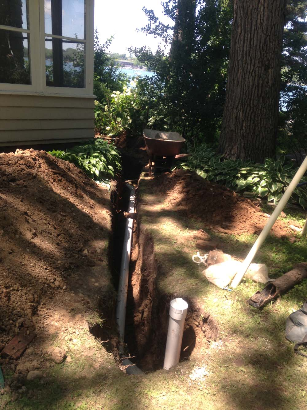 Ti Lake Mary Reroute Sewer Around Septic Tank And Install Clean Out For Maintainable
