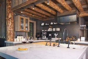 Rustic Cabin Kitchen Xs 300x203