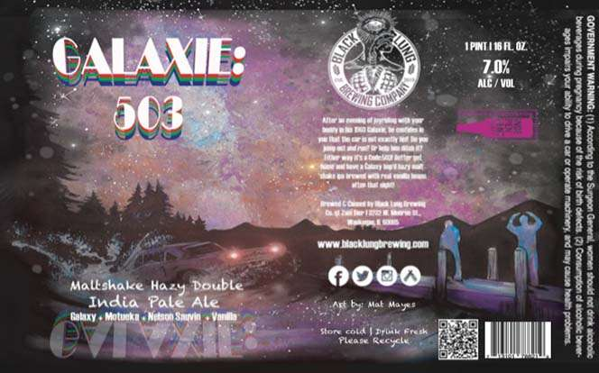 Galaxie 503 Maltshake Hazy Double Ipa