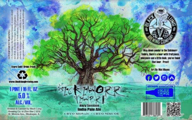 Sickimorr Timbre Hazy Session Ipa