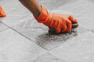 How to Disinfect Tile and Grout